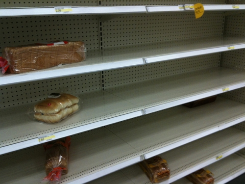emptybreadshelves